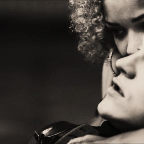 loosing someone who has fought for you through time. #misfits #love #Alisha