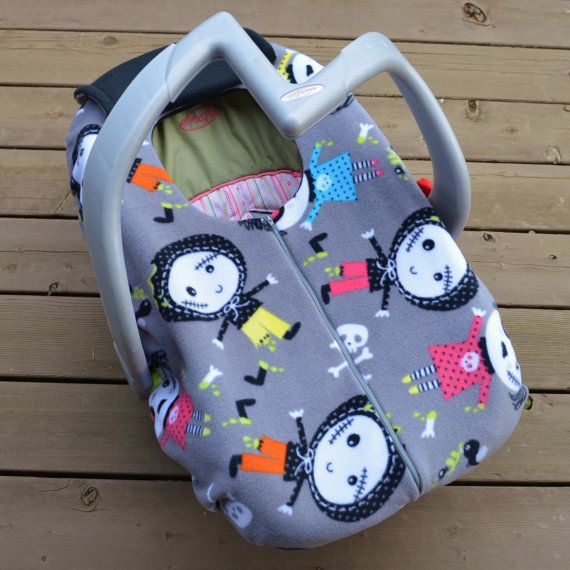 Zombie Baby Carseat Cover For Winter Cold Weather By