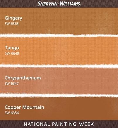 Warm Orange Paint Colors 58 best orange inspirations images on pinterest | orange paint