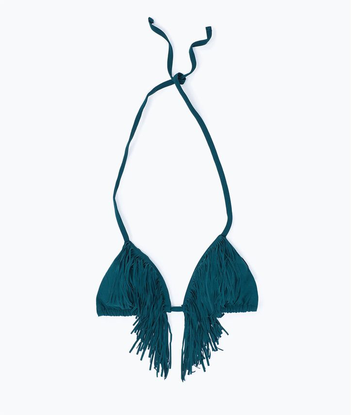 FRINGED BIKINI TOP-Beachwear-Accessories-WOMAN | ZARA United States