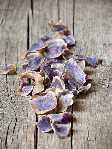 Blue potatoes Chips