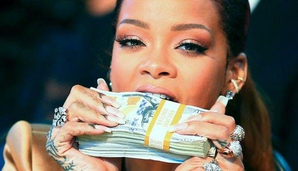 Rihanna E Oficialmente A Mulher Mais Rica Do Mundo Da Musica