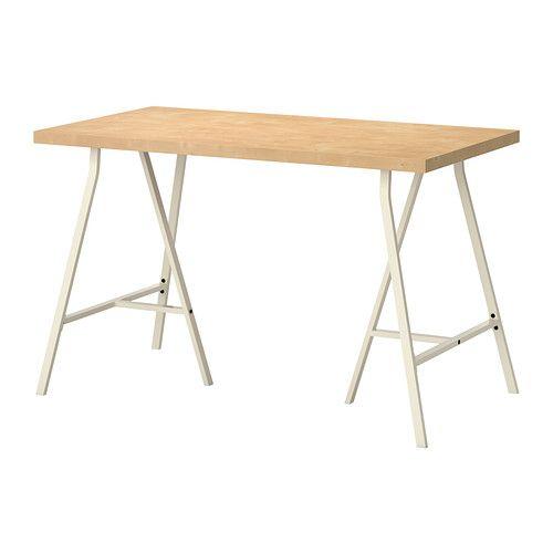 LINNMON / LERBERG Table - motif bouleau/blanc - IKEA 36€