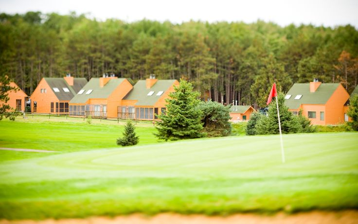 Golf Course in the Springtime at the Christmas Mountain Village ...