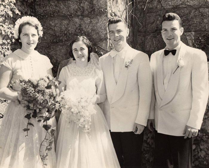 Real Retro Weddings: 85 Best Real Vintage Weddings Images On Pinterest