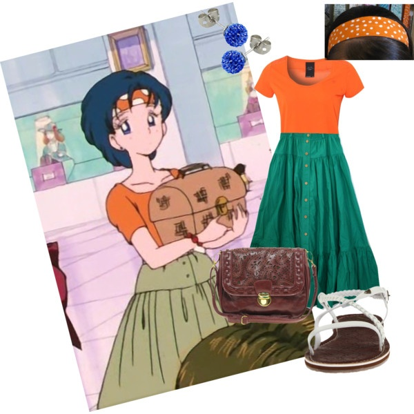 Ami Boho Outfit - Season 1 Episode 18 Sailor Moon by sailormoon2013 on Polyvore