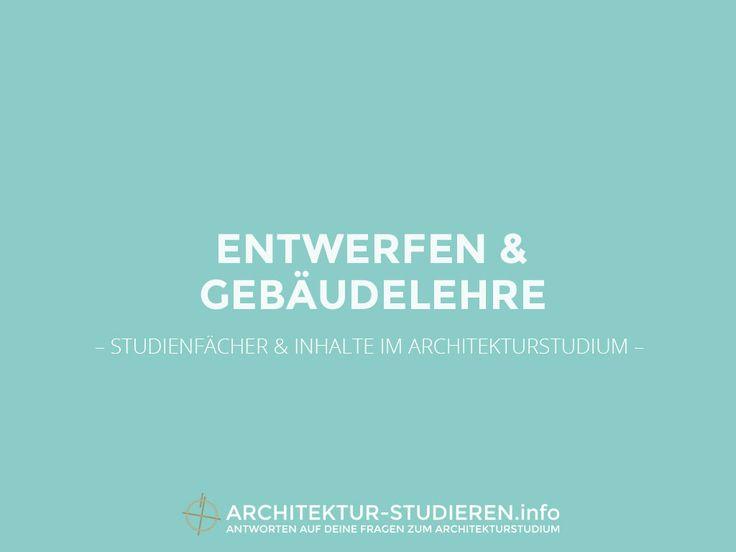Entwerfen & Gebäudelehre