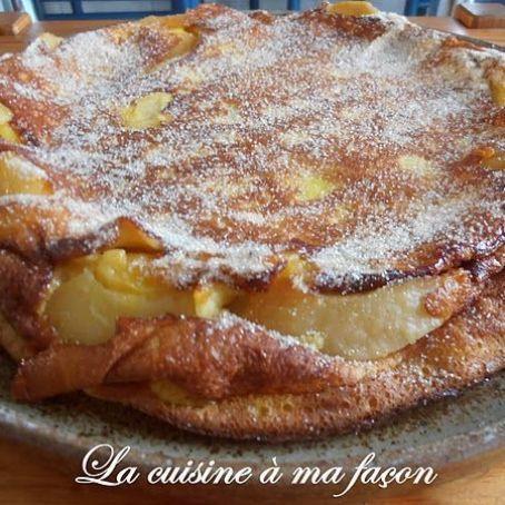Torta mousse de maçã: