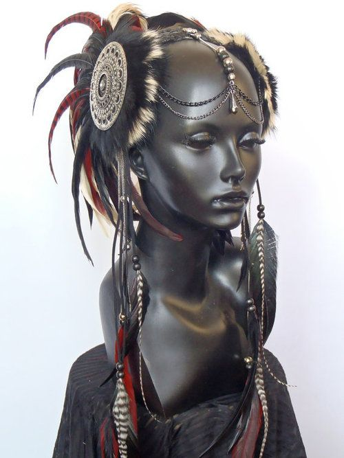 tribal headdress idea