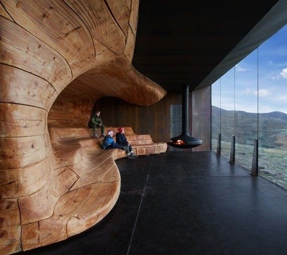 Norway observation pavilion