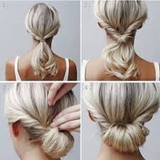 Billedresultat for skulderlangt hår opsætning