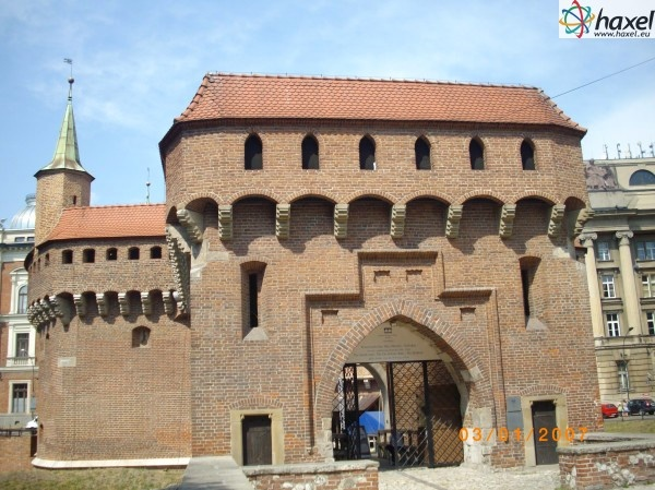 The barbican is one of the few remaining relics of fortifications that once encircled the royal city of Cracow