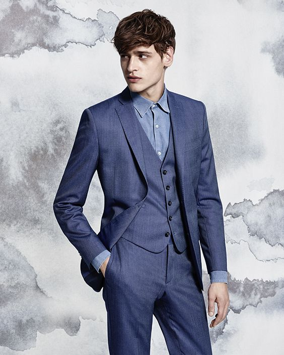 "J.Lindeberg Spring/Summer 2016 Campaign, ""Birds – Tailored to Fly"""