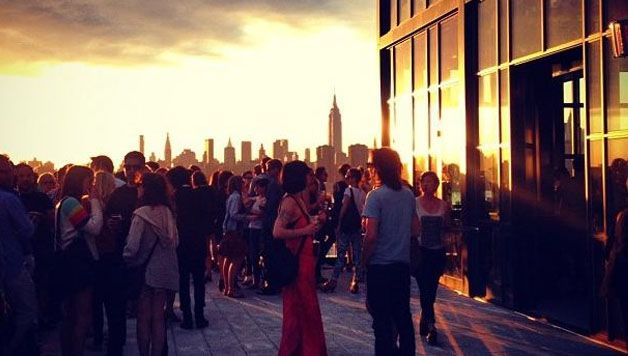 the Ides at the Wythe Hotel : le rooftop hipster de Williamsburg