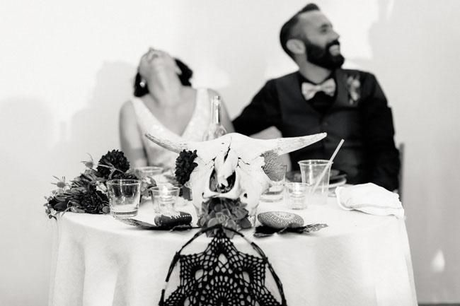 Vintage-Bohemian Palm Springs Wedding: Miran + Brian - Weddbook