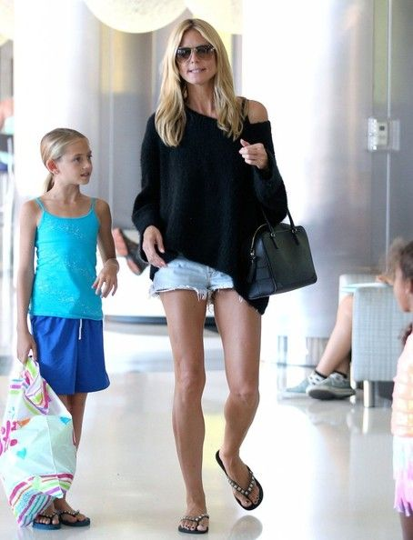 Heidi Klum Photos: Heidi Klum Takes Her Kids Shopping After Soccer Practice