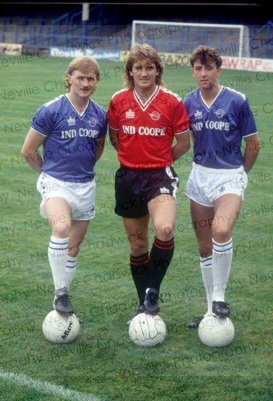 Ali Mauchlen, Russell Osman & Gary McAllister- Leicester City