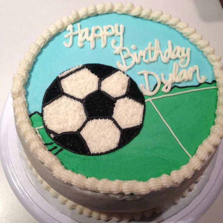 Cake With Ball Design : Birthday cake with soccer ball Cheeky Cakes Pinterest ...