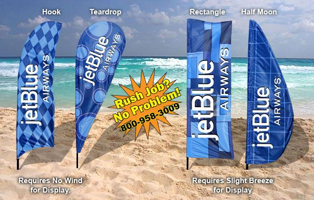Custom Feather Flags , Custom Flutter Flags, Bowhead Banners, Bow Flags, Advertising Flags, Wave Banners -