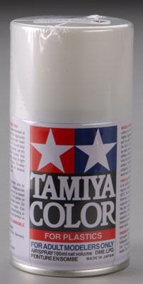 Spray Lacquer TS45 Pearl White 3 oz (tam85045) Tamiya Hobby and Model Lacquer Paint