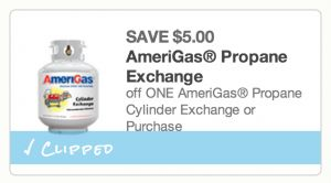 Save $8 on AmeriGas Propane Exchange | $9.88 at Home Depot