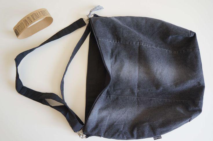 Oversized bag, upcycled