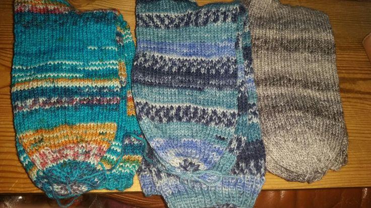 Strikkede sokker  #knitted socks