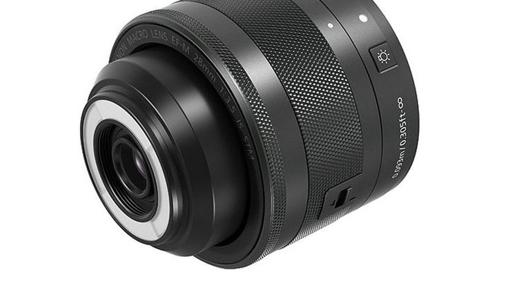 Canon's new macro lens has a built-in ring flash #photography