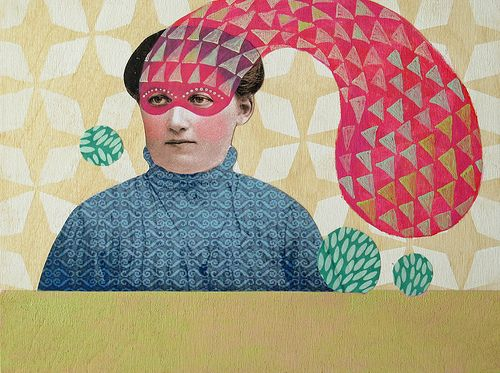 masked - Julie liger-belair. great collage! Photos, Julie Liger Belair ...