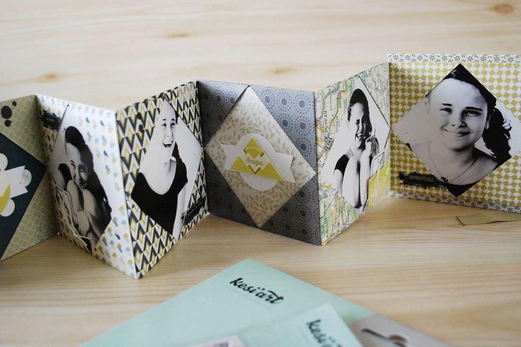Origami cadre photos