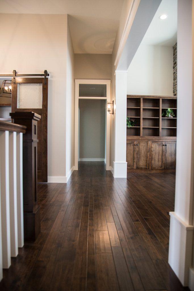 Dark Hickory Hardwood Entryway Flooring In 2019