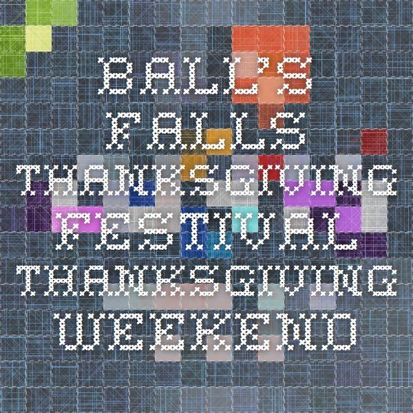 Ball's Falls Thanksgiving Festival - Thanksgiving Weekend