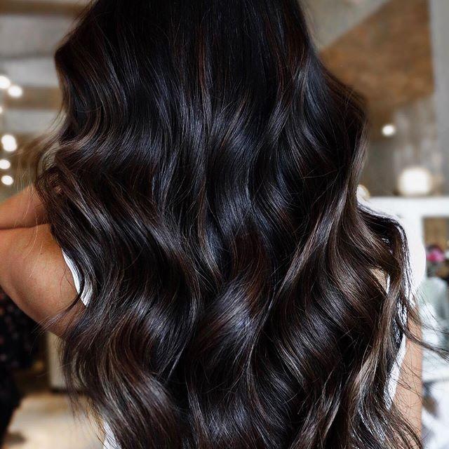 39 Neue Schöne Haarfarbe Dunkelbraun   Dunkel brünettes