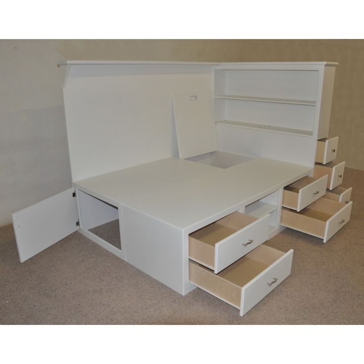 Teen Beds With Storage Underneath Drawers Multiple Shelves And Deep Storage