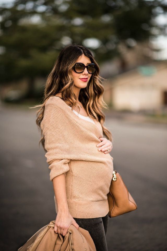 Association of neutral colors with Chicwish | maternity fashion for the winter | maternity …   – elegance