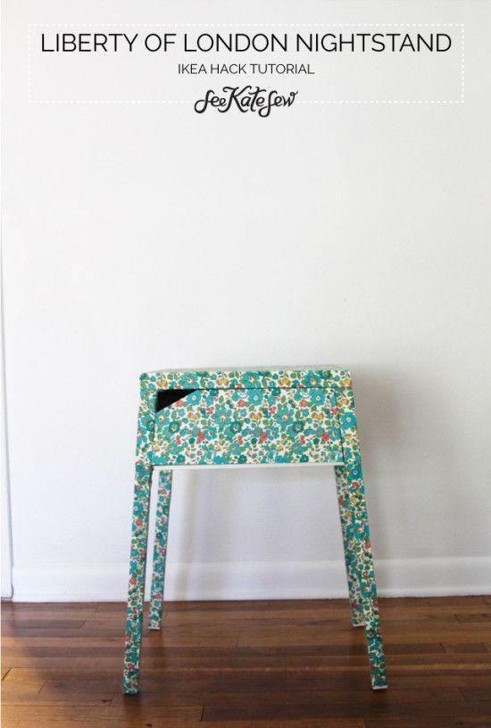 DIY Blomster Natbord