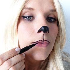 Bear makeup halloween