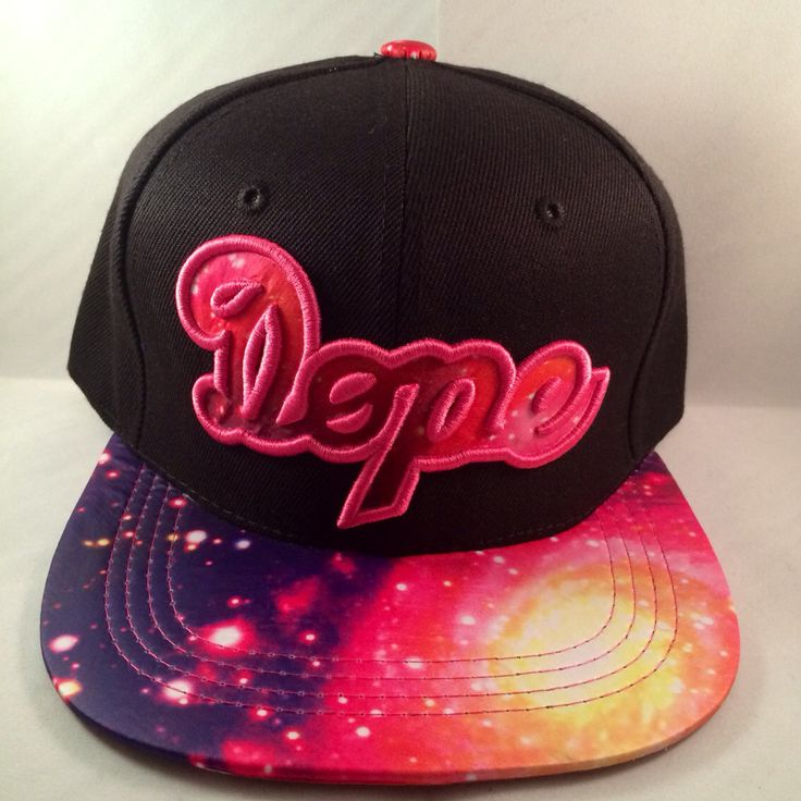 La Stampd Dope Galaxy filled letters snapback hat by KruppsKapps, $34.99