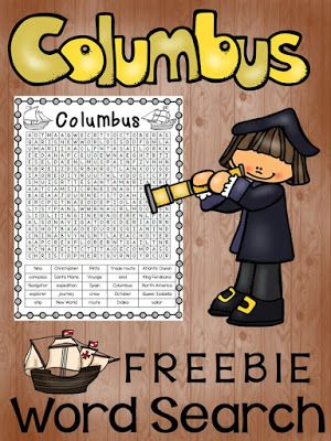 America Discovered -great site -PAWSitively Teaching: Plans & activities for Christopher Columbus, activities, videos, & books