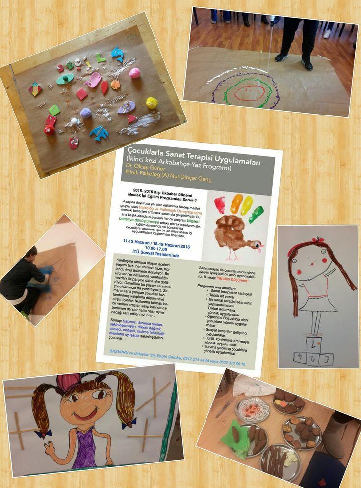 Arkabahçe'de Çocuklarla Sanat Terapisi eğitimi başlıyor