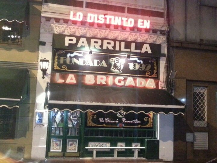SAN TELMO: If you are visiting BA for a short time and find yourself in San Telmo, La Brigada is a quality parrilla that rarely fails. Maybe the waiters gimmickily cut the beef with spoons, and perhaps it's a bit annoying when you are crammed into the tourist section, but there are something about La Brigada's steaks that just aim to please. The sweetbreads and provoleta make for a powerful entrada duo, while really any cut of steak will satisfy.