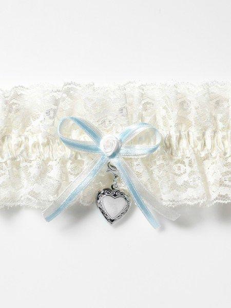 Vintage bride kanten kousenband Poirier