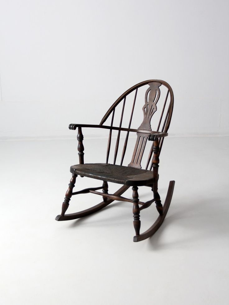 antique windsor rocking chair with rush seat - 90 Best Windsor Chair Images On Pinterest Windsor Chairs, Colonial