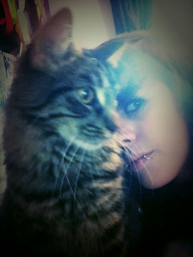 Me and my cat chase ^-^