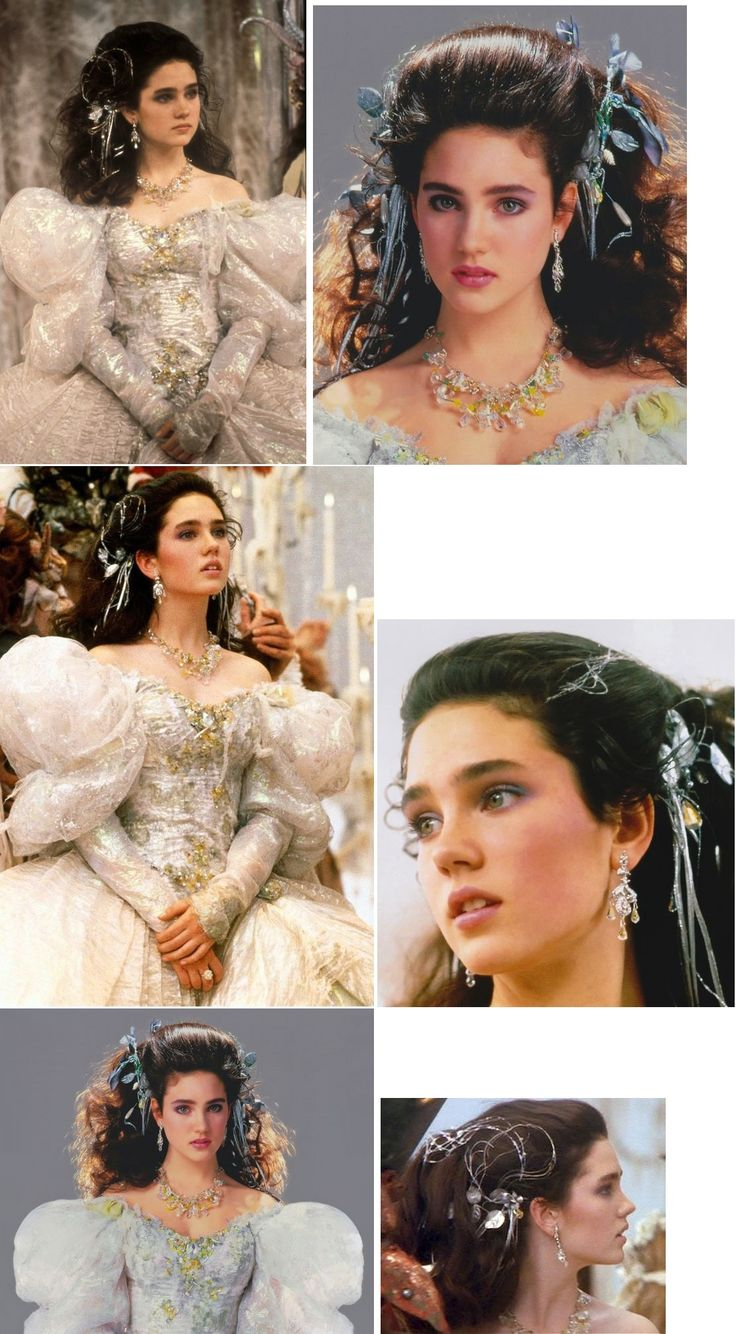 Jennifer Connelly as Sarah, from the film Labyrinth
