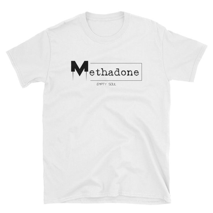 Empty Soul shirt for me by Methadone Shirts. White, men.