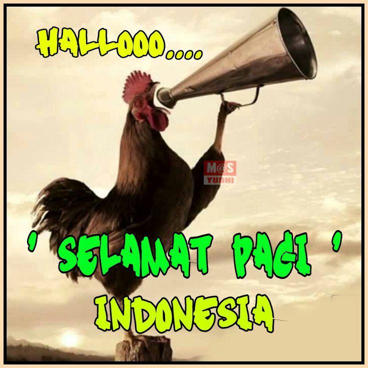 Met Pagi Indonesia