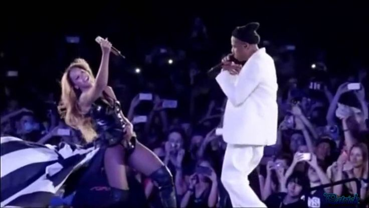 "Beyonce And Jay Z ""Forever Young"" ""Halo""Paris Stade de France On The Run..."