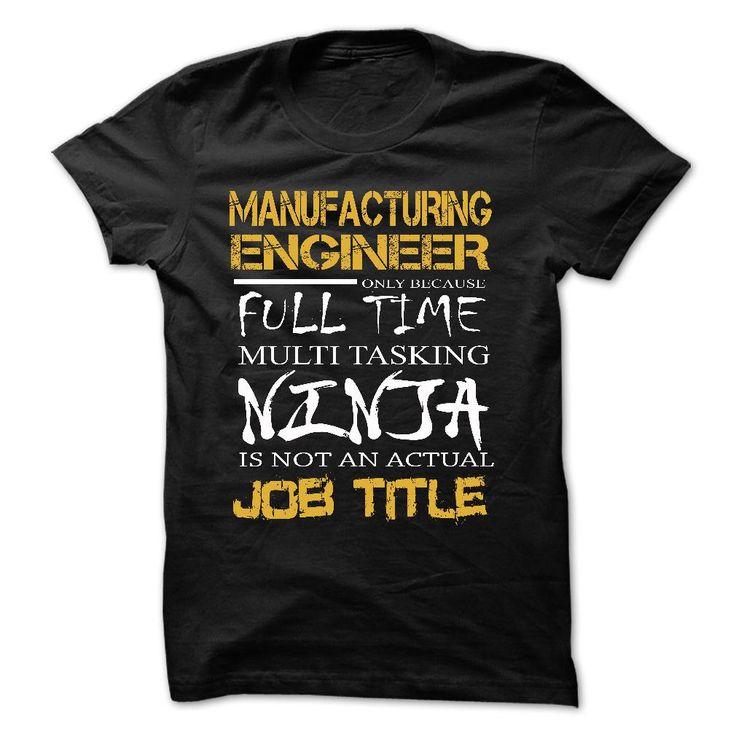Best Seller - MANUFACTURING ENGINEER - Multitaskin… #Engineer #Engineering #job