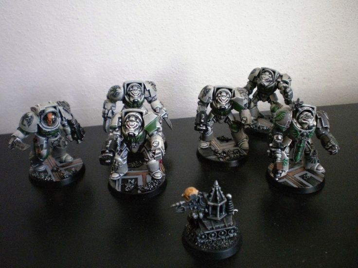 Space Hulk: Deathwing Terminator squad (painted) | eBay